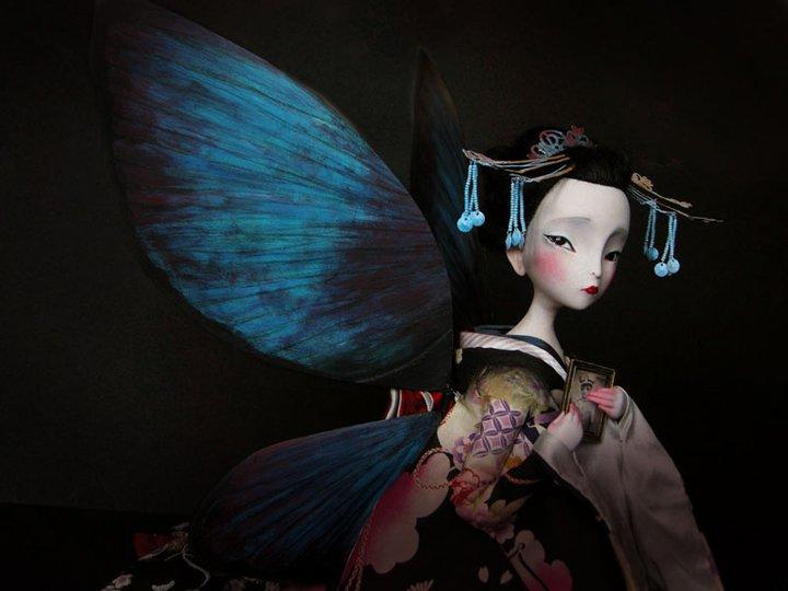 Benjamin Lacombe amantes-mariposa-doll
